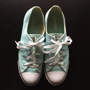Mint green Women's Converse